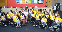 All 2015 titleholders pose for group photo at Ms. Wheelchair America