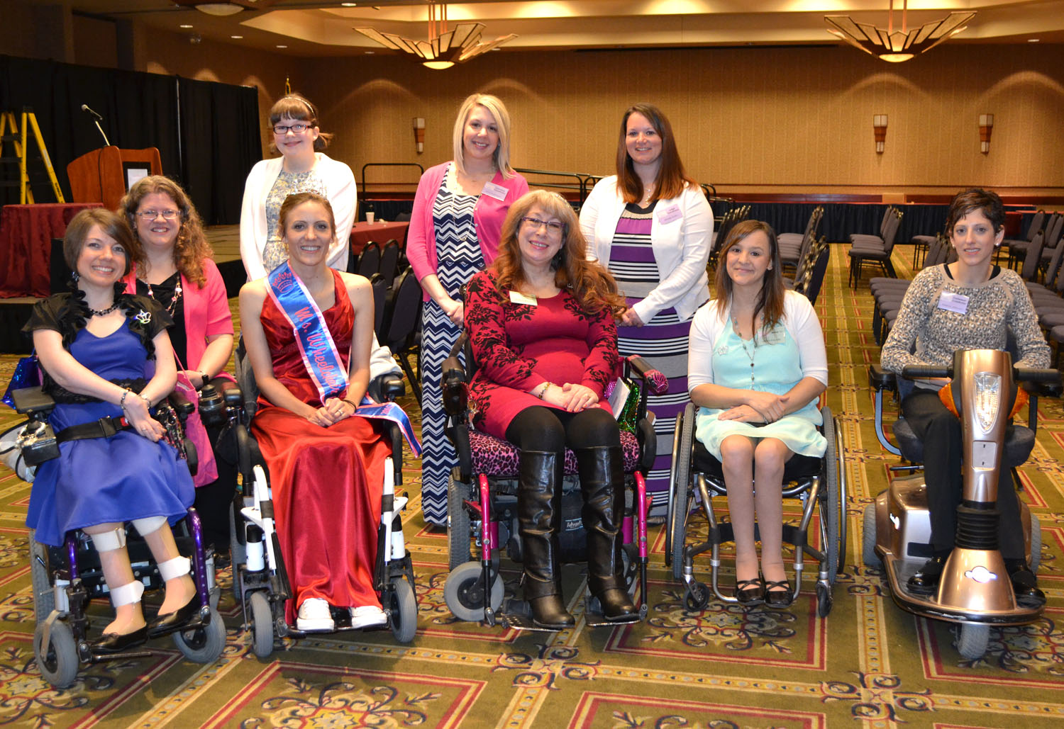 The MWKS steering committee with new titleholder