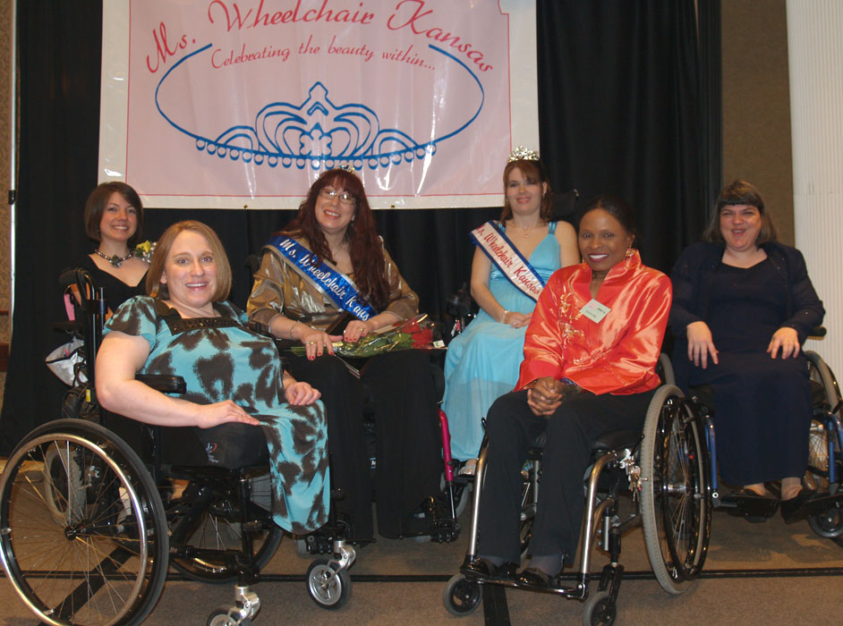 Six MWKS titleholders on stage