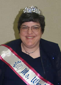 Portrait of Lorraine at '07 Crowning